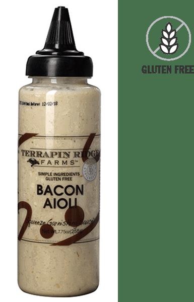 Terrapin Ridge Farms Bacon Aioli Garnishing Squeeze