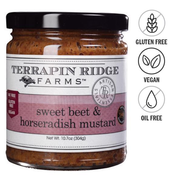 Terrapin Ridge Farms Sweet Beet and Horseradish Mustard