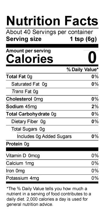 Terrapin Ridge Farms Garlic Kraut Mustard nutrition facts
